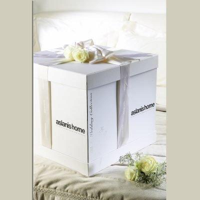 Κουτί συσκευασίας πολυτελείας για τις νυφικές στρώσεις