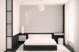minimalist Κρεβατοκάμαρα